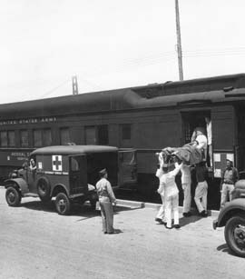 Army Hospital Trains at Crissy Field : Beutelevision